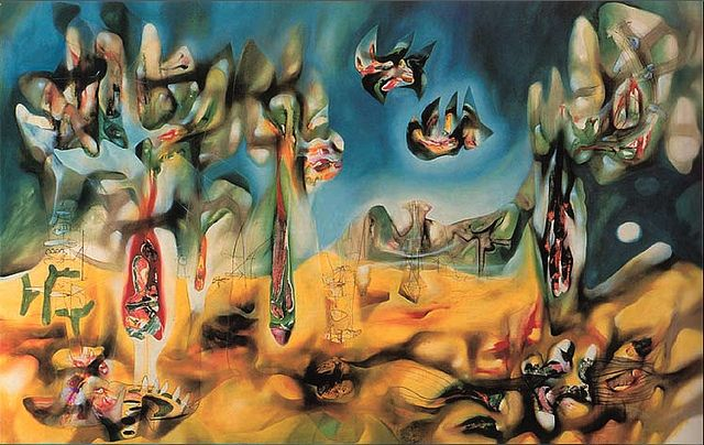 matta paintings | Inscape paintings by Roberto Matta (1911–2002)