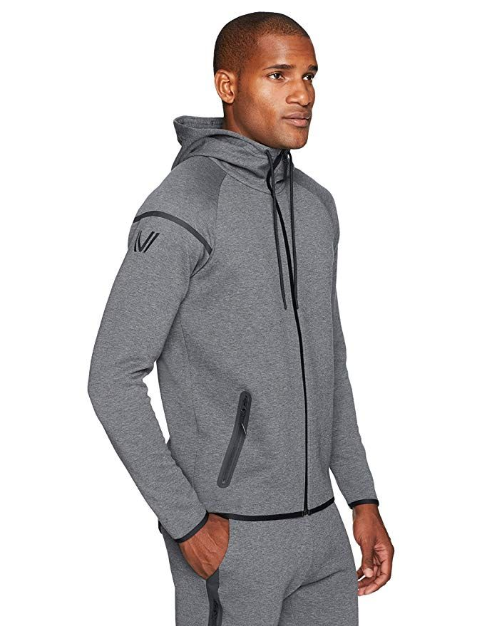 2018 Mens Blank Ripped Full Zip Distressed Sweatshirts