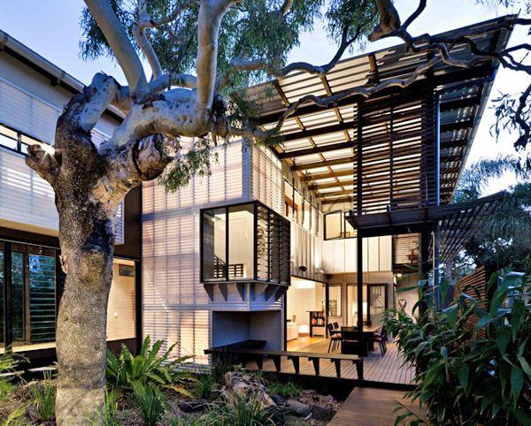 Tropical coastal dwelling in Australia