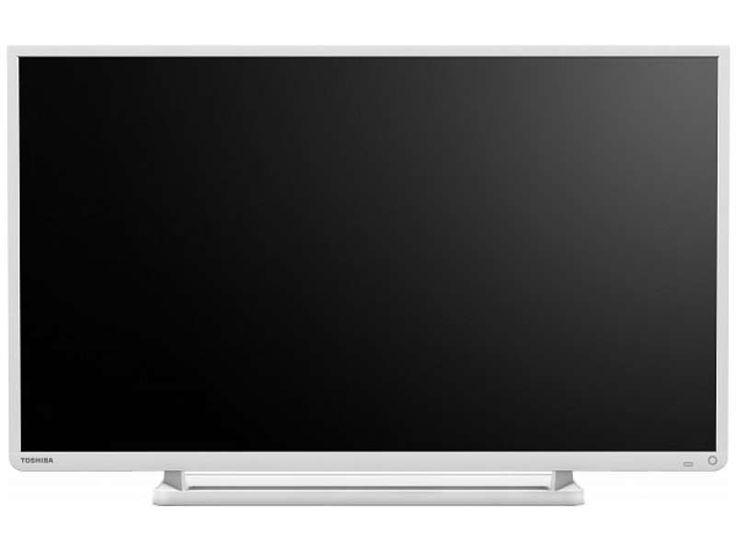 toshiba 32wg tv lcd led 32 pouces blanc - neuf