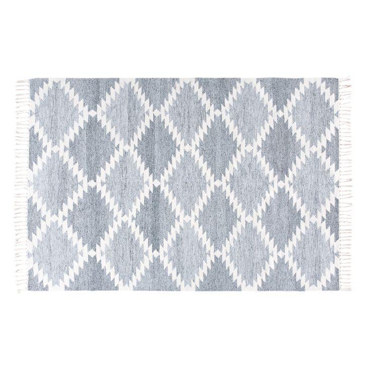 Tappeto intessuto a motivi grafici, 160x230 | Maisons du Monde