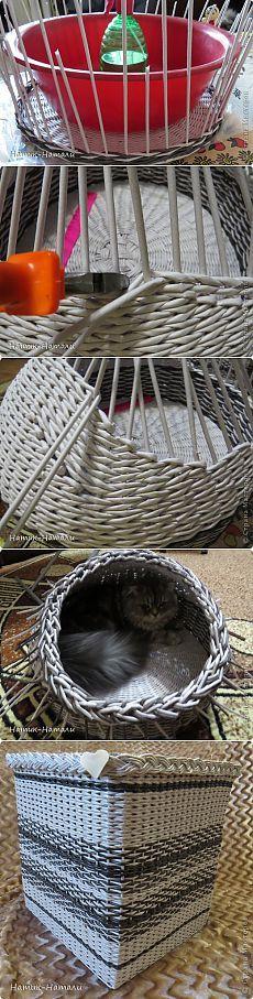 Корзинка для кота  | Страна Мастеров