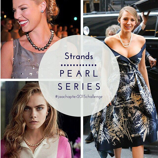 """#pearlseries  Lengths collar: 12""""-14"""", choker 16"""", princess 18"""", matinee 20""""-24"""", opera 30""""-32"""" and rope 36""""- 45""""  Uniform: All pearls in the strand are the same size  Graduated: The pearls decrease gradually in size from the centre to the ends.  Stringing: Of the varying techniques pearl strand stringing should always be knotted between each pearl so that in the event the silk or nylon thread were to break the pearls would not go rolling across the floor. Read more at jaa.com.au"""