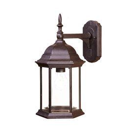 Acclaim Lighting Craftsman 16.5-In H Black Coral Outdoor Wall Light 51