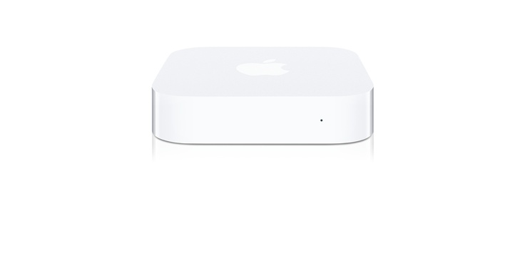 Airport Express - cute and compact wireless AP