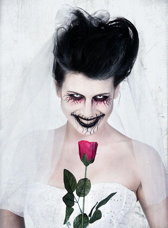 Halloween Make up Geisterbraut #halloween #horror #makeup ...