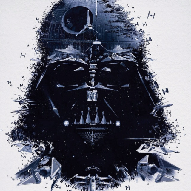 The sum of all his parts.: Geek, Darth Vader, Stuff, Darthvader, Stars, Poster, Star Wars, Starwars