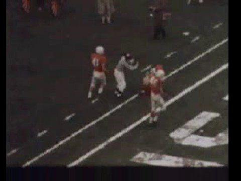 1960 Cotton Bowl.  Texas vs. Syracuse with #44 Ernie Davis
