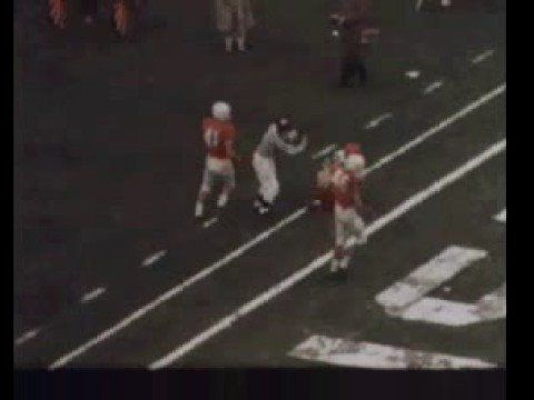 1960 Cotton Bowl.  Texas vs. Syracuse with #44 Ernie Davis