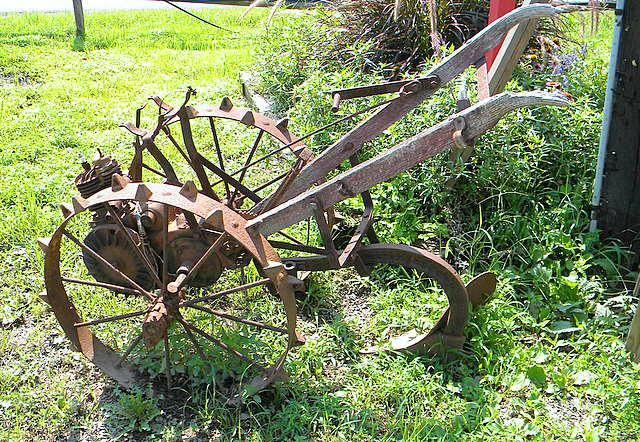 Till no fields pull no weeds but enjoy the harvest cox for Landscaping tools for sale