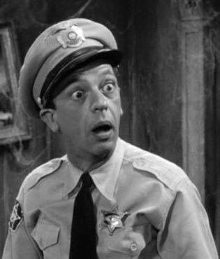 Barney Fife The Andy Griffith Show...The Old Remshaw haunted house...