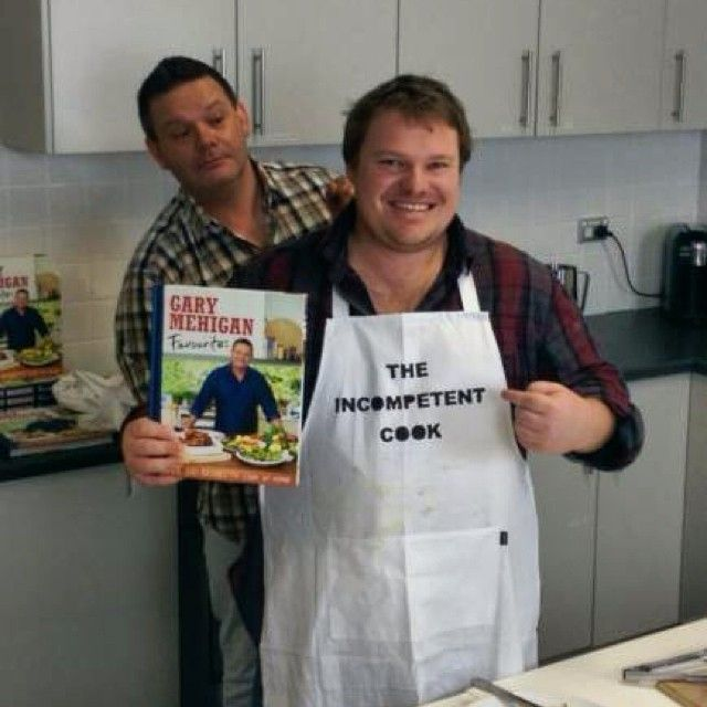 Gary Mehigan did a wonderful job trying to tutor The Incompentent Cook, a very difficult task.