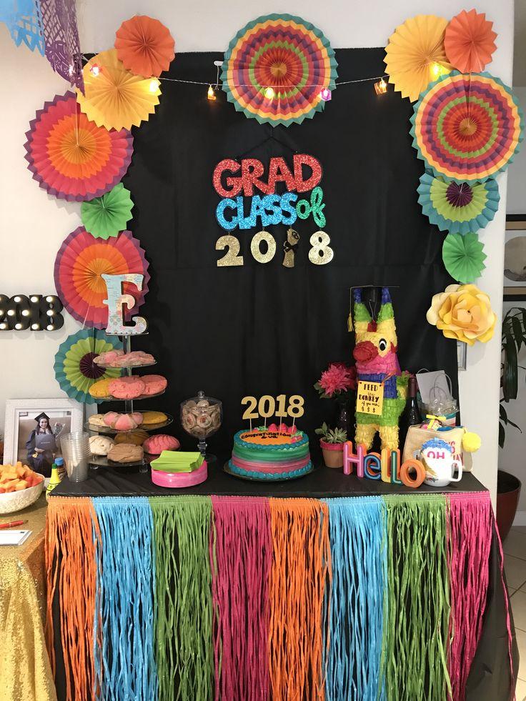 fiesta themed graduation party