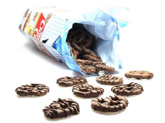 Nestle Choclait Chips Knusper-Brezeln