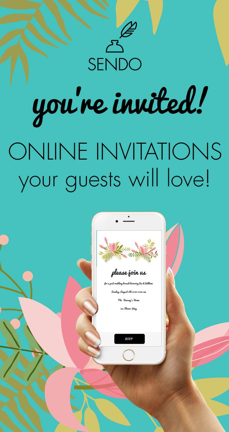 create an online party invitation in minutes track rsvps sell event tickets and manage your event on one place
