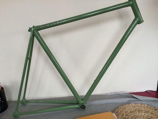 Ral 6011 Olive Green Bike Rals Wardrobe Rack Bike