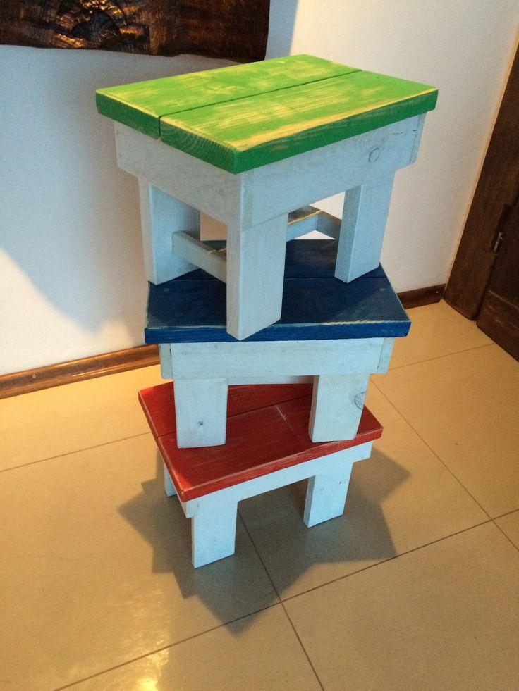 Scandinavian style stools