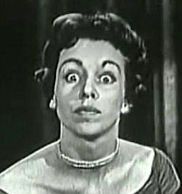 A young Carol Burnett on the Ed Sullivan Show.