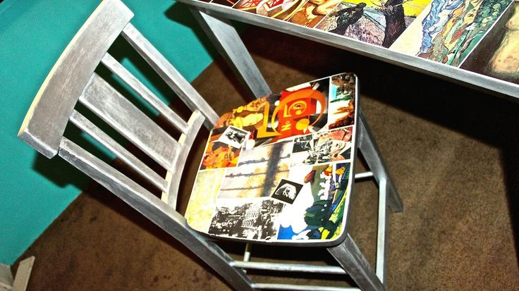 D.I.Y. Decoupage Chairs