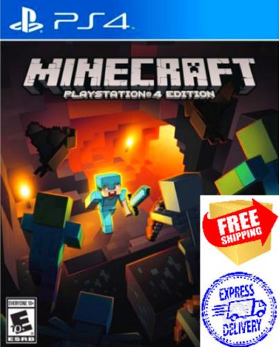 Minecraft-Playstation-4-Edition-PS4-Game-BRAND-NEW
