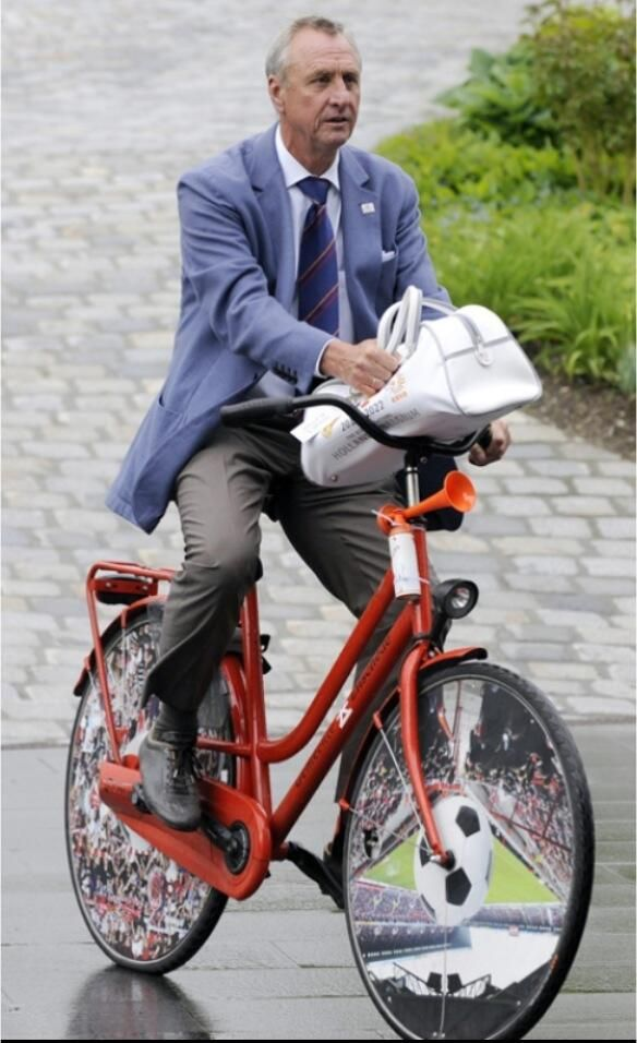 Johan Cruijff know how to ride