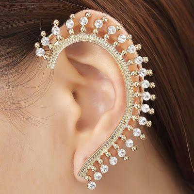Latest Gold Earring Jewelry