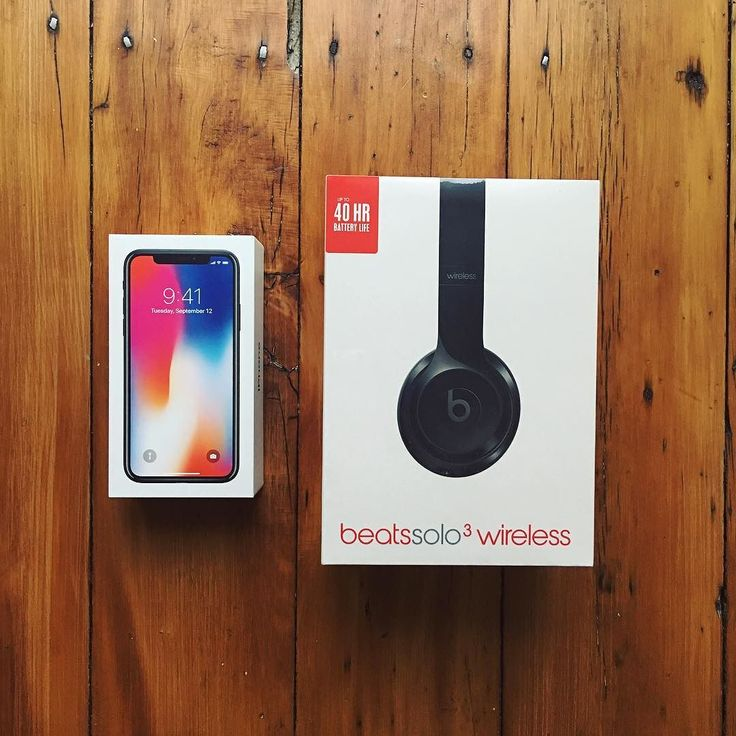 Christmas came early this year.  #apple #iphonex #beatsbydre #beatssolo3