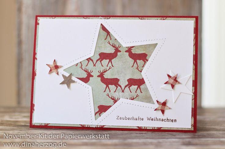 Nov. 14 - Dina: Stern und roter Hirsch