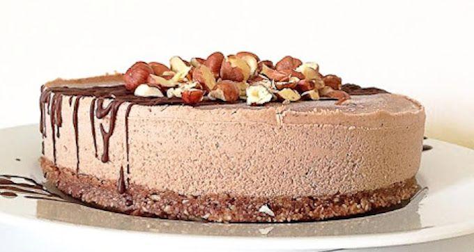 Raw Cacao Hazelnut Cake