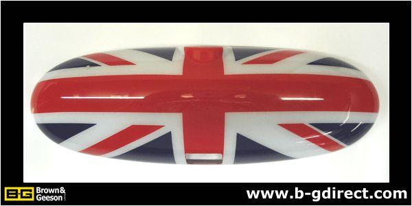 Union Jack Interior Mirror Cover (non auto dimming) for BMW Mini R53