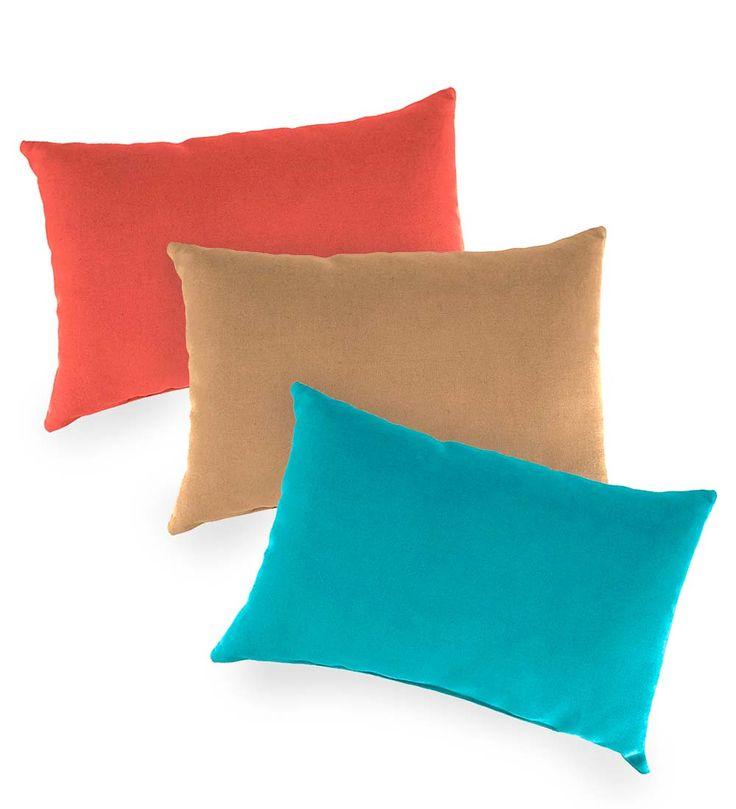 Shenandoah Outdoor Lumbar Pillow | Outdoor Furniture Cushions