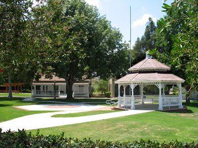 Heritage Park Village Museum Oceanside Historic Outdoor Rustic Garden Wedding In San Diego