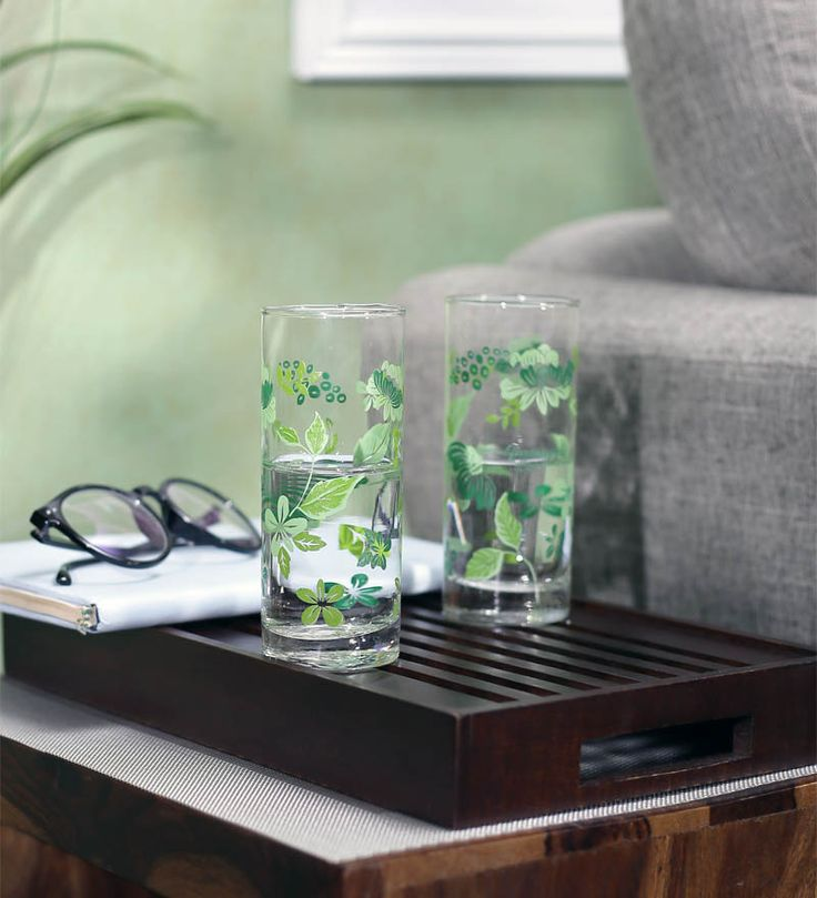 Lowest Price Ever : Buy Green Apple Green Gladiolus Long Glass ( 6 Pcs) at Rs.129 + Free Shipping | Online Deals Of India