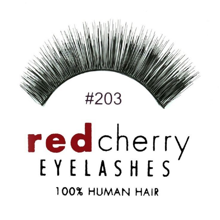 Red Cherry Eyelashes 203 (6 Pc Pack) *** Details can be found by clicking on the image.