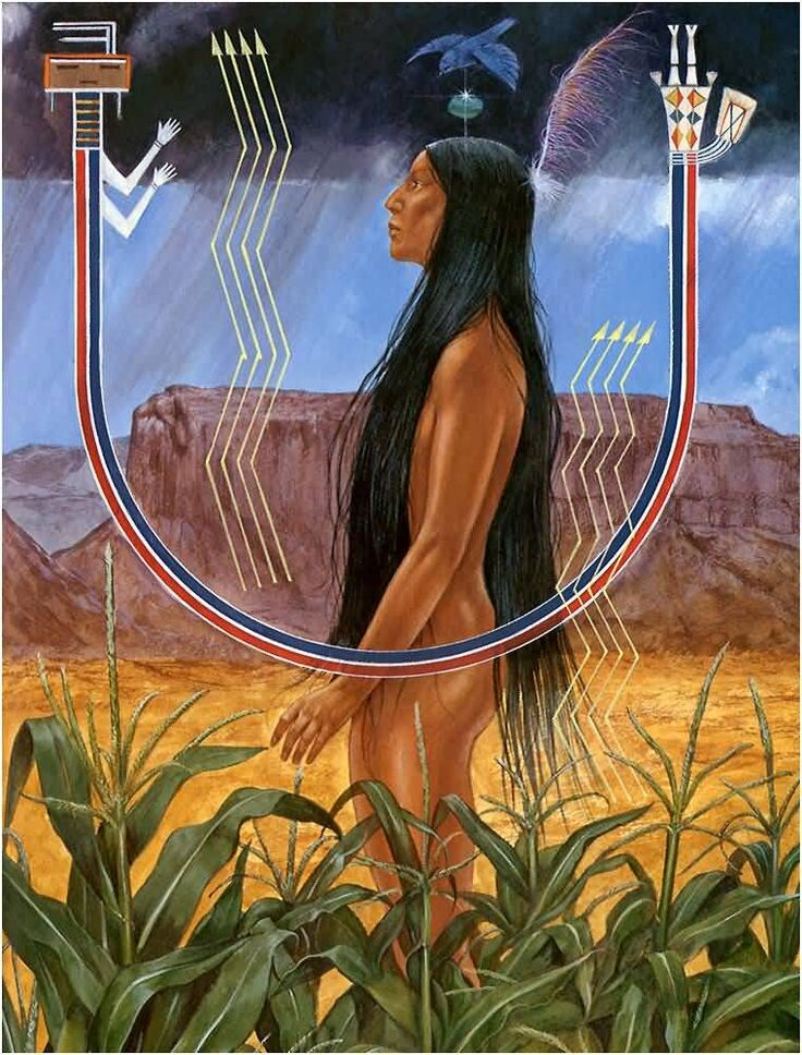 "Richard Hook - Myths. ""25 - The Creation"", Myth From The Navajo Tribe - Southwest Region."