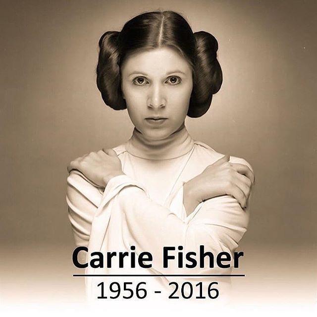 @starwarsonline: RIP. Carrie Fisher... 'may the force be with you... always' #carriefisher #starwars #leia #leiaorgana #rogueone #starwarsrogueone #rogueoneastarwarsstory #obiwankenobi #skywalker #lukeskywalker #anakinskywalker #hansolo #starwarsart #starwarsnerd #darthvader #princessleia #kyloren #starwarsbattlefront #starwarsfans #starwarsgeek #theforce #thedarkside #maytheforcebewithyou #starwarsfan #starwarsdaily #starwarsrebels #theforceawakens #starwarstheforceawakens