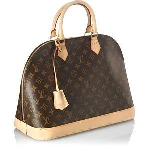 Louis Vuitton Monogram Canvas Alma MM Satchel Handbag