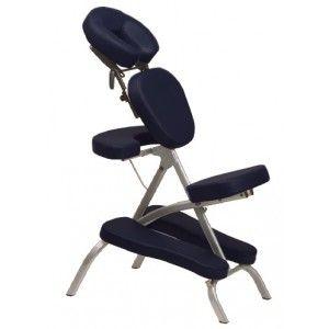 Chaise de massage VORTEX legere en structure aluminium