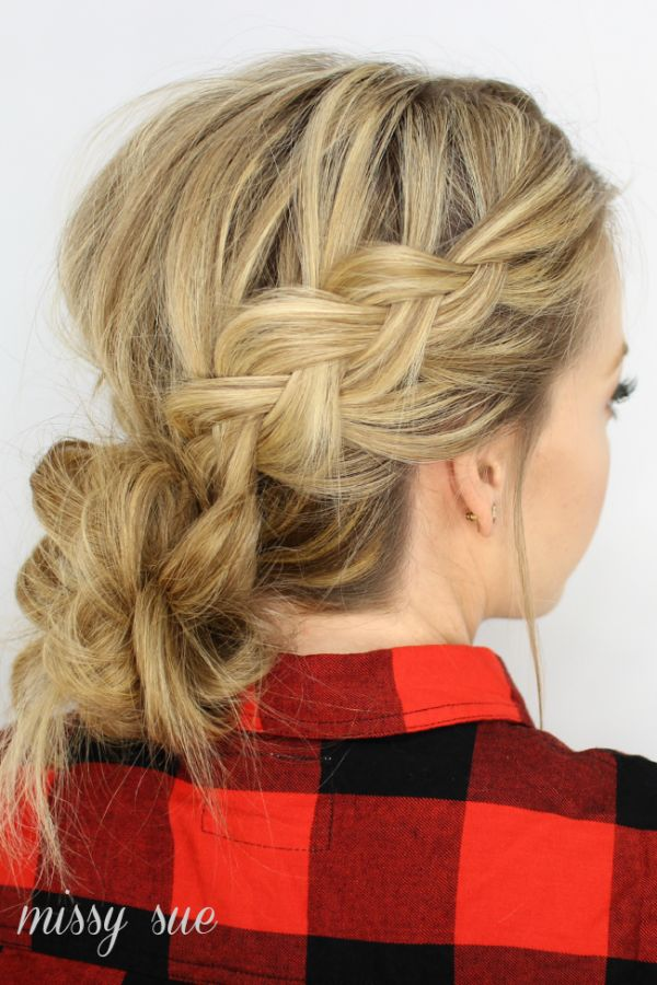 hair style braids braids and low bun hair buns 3855