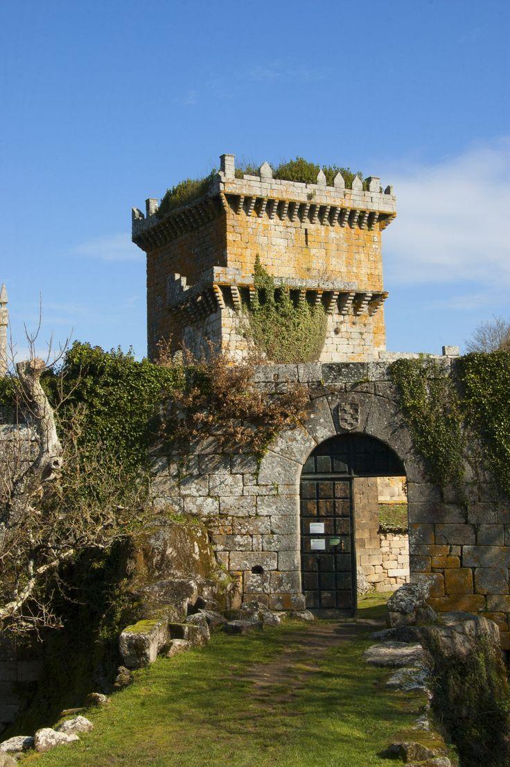 Castle of Pambre located close to Palas de Rei in Galicia