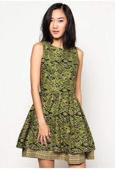 Dress Batik Ratu Alice