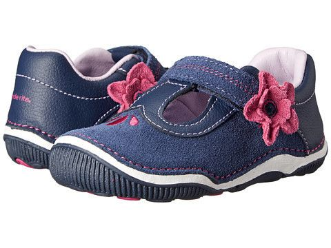 Stride Rite: SRT Teagan T-Bar Infant/Toddler (Navy)