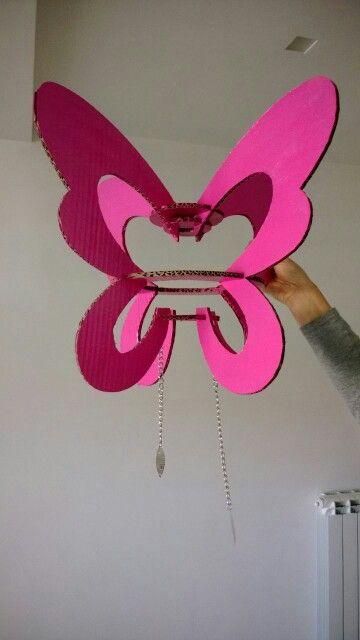 Lampadario farfalla
