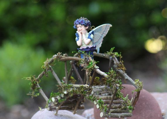Hey, I found this really awesome Etsy listing at https://www.etsy.com/listing/232167039/fairy-rickety-bridge-handcrafted-by