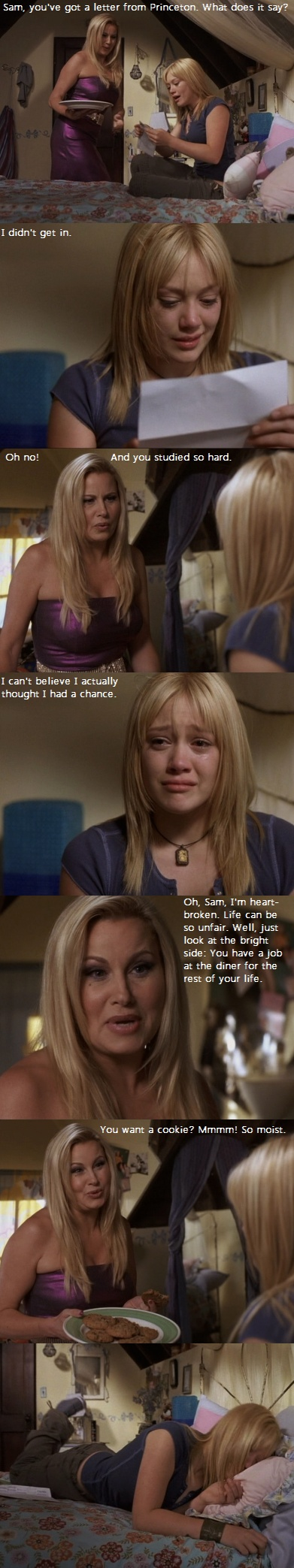 Mmm, so moist! From #A Cinderella Story haha this kills me lol!