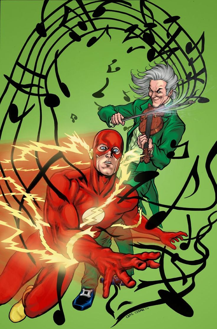 The Flash Versus The Fiddler By Craig Cermak Justice