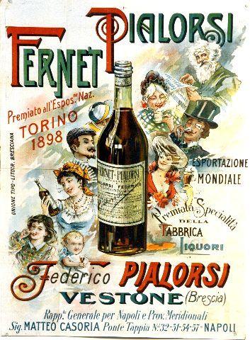 Fernet Pialorsi Vestone (Brescia) - 1898 vintage poster