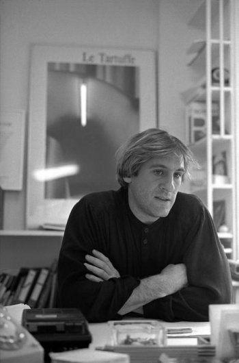 Gérard Depardieu by Nicolas Tikhomiroff, 1983