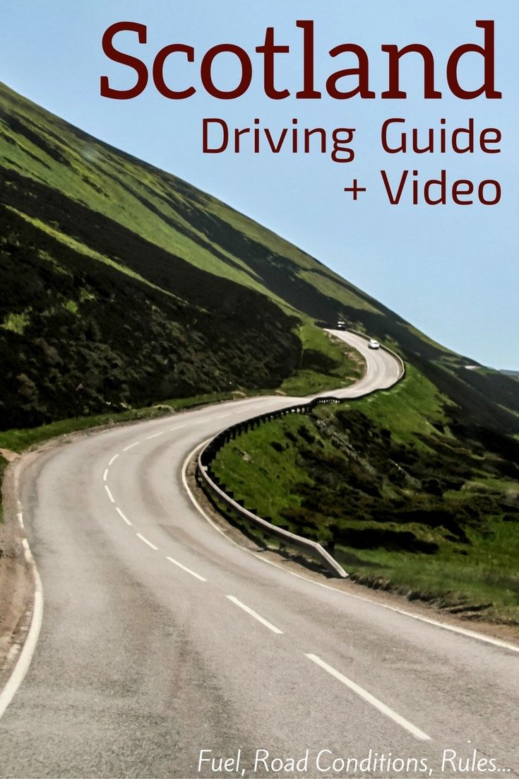 Prepare for your Scotland Road Trips with this guide about Driving in Scotland - Video, rules, practical tips... all you need to be ready to drive in the cities and on the Single track roads.