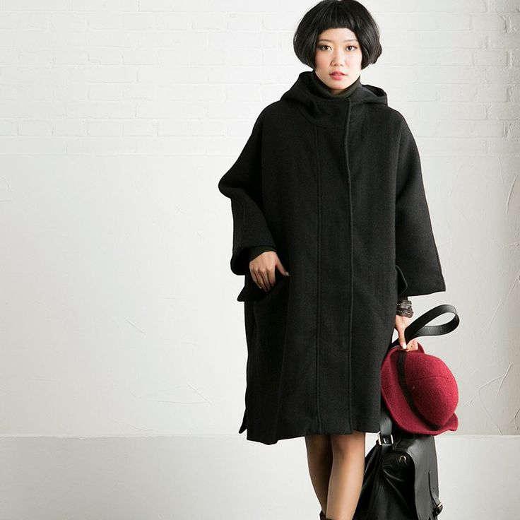 87 best Wool Loose Coat/Jacket-[Fantasylinen] images on Pinterest ...